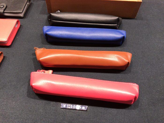 鎌倉帆布巾で購入した革のペンケース