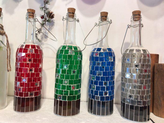 モザイクタイルの瓶|鎌倉小町通り
