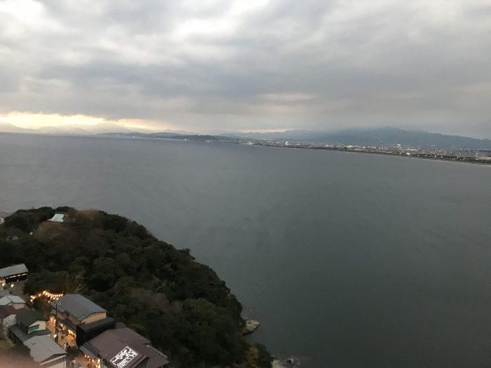 江の島展望灯台からの景色