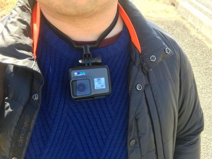 GoPro+ネックハウジングマウントで手ぶら撮影