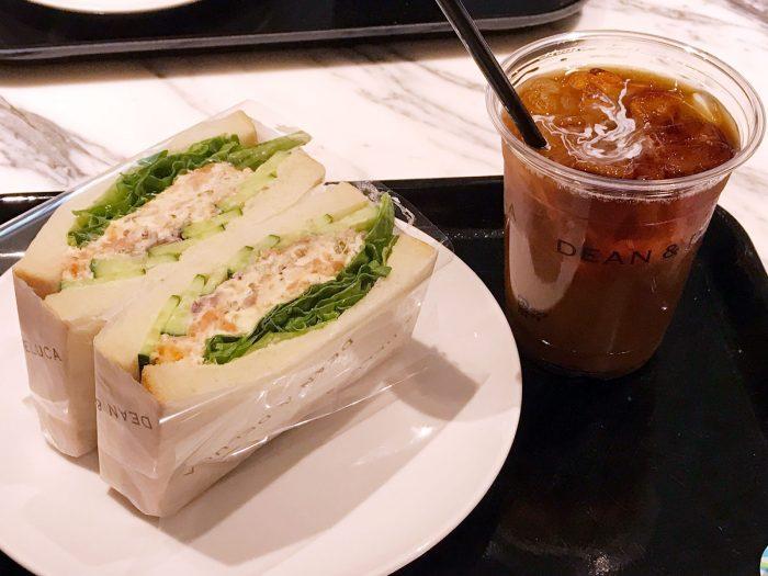サンドウィッチ&アイスコーヒー|DEAN & DELUCA