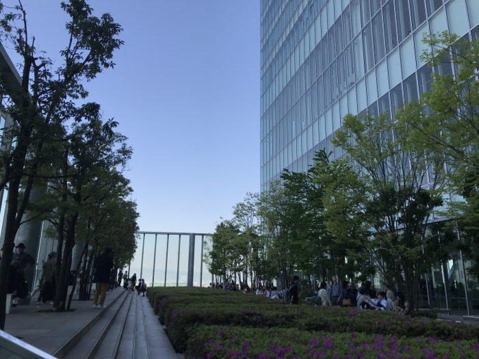 空中庭園|あべのハルカス