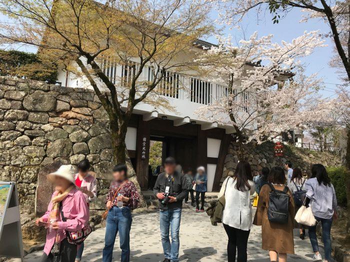 入場ゲート|犬山城
