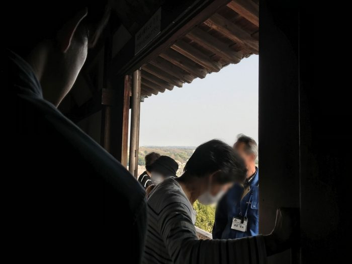 廻縁へ|犬山城天守からの眺め