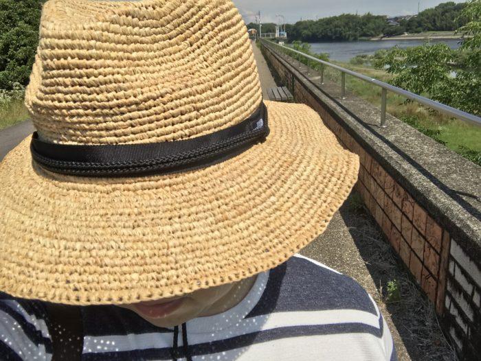 帽子上部|THE NORTH FACEの麦わら帽子