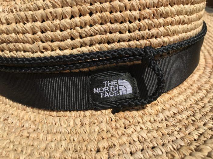 ロゴ|THE NORTH FACEの麦わら帽子