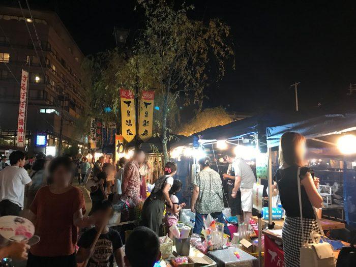夜市(ヨルイチ)|下呂温泉街