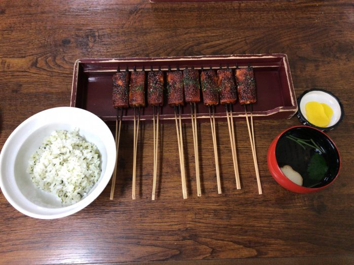 松野屋の田楽定食