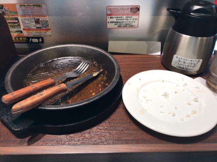 ワイルドステーキ300gを完食|いきなり!ステーキ 岐阜東新町店