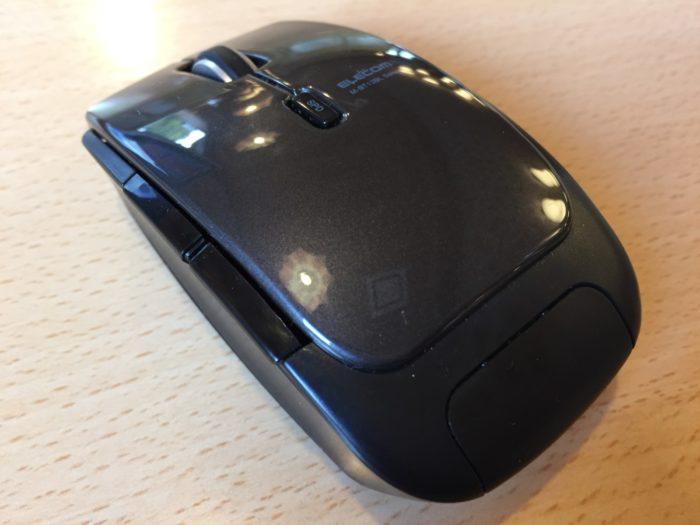 エレコムのワイヤレスマウス「M-BT13BLBK」