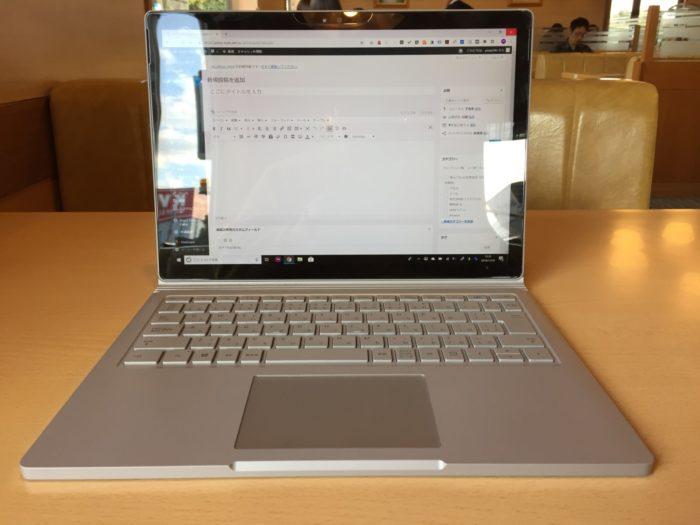 ノートPC(Surface Book)